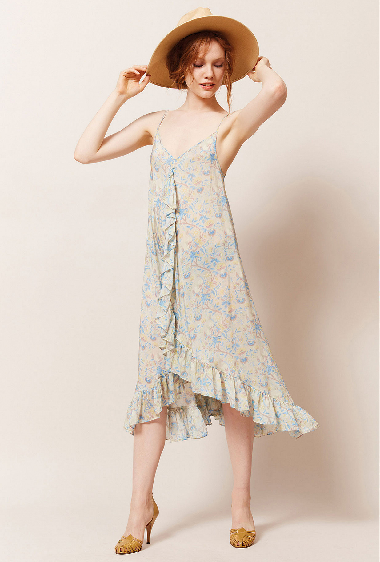 Floral print Dress Sulfate