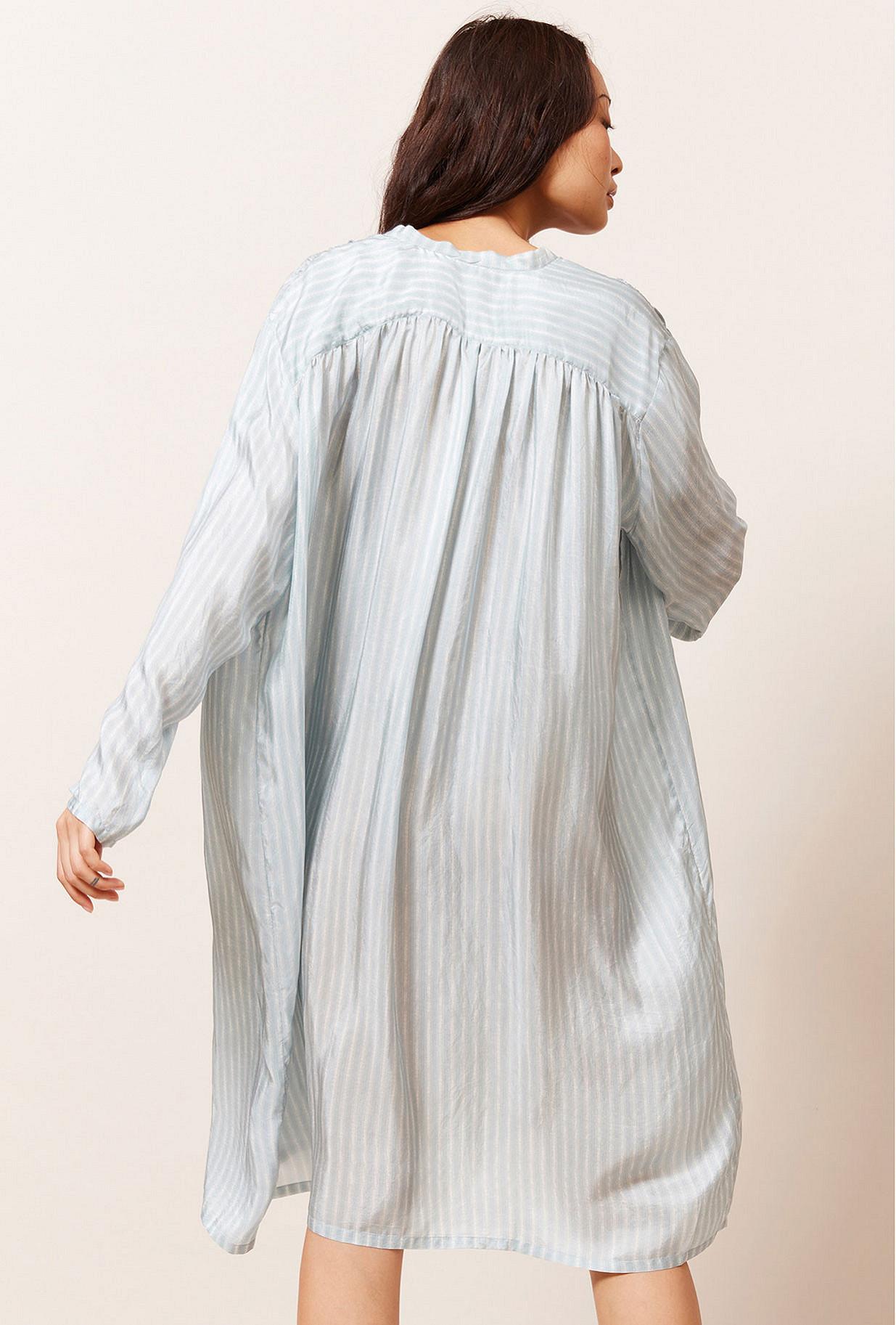 Robe Rayé bleu  Jaswant mes demoiselles paris vêtement femme paris