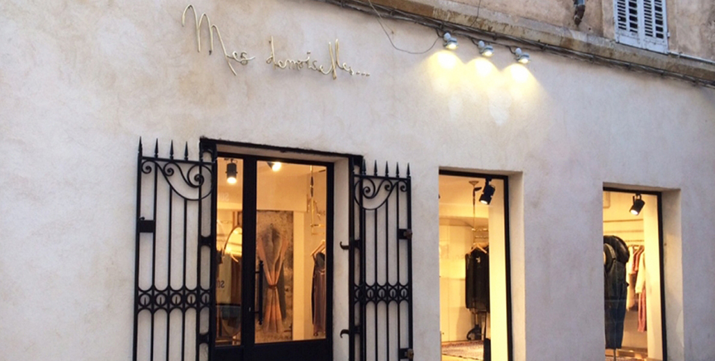 Boutique mesdemoiselles paris provence fashion