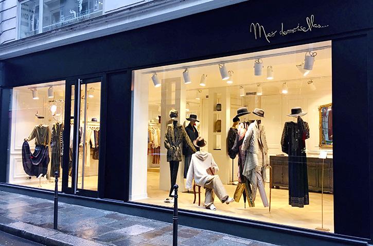 Mesdemoiselles fashion paris stores createur