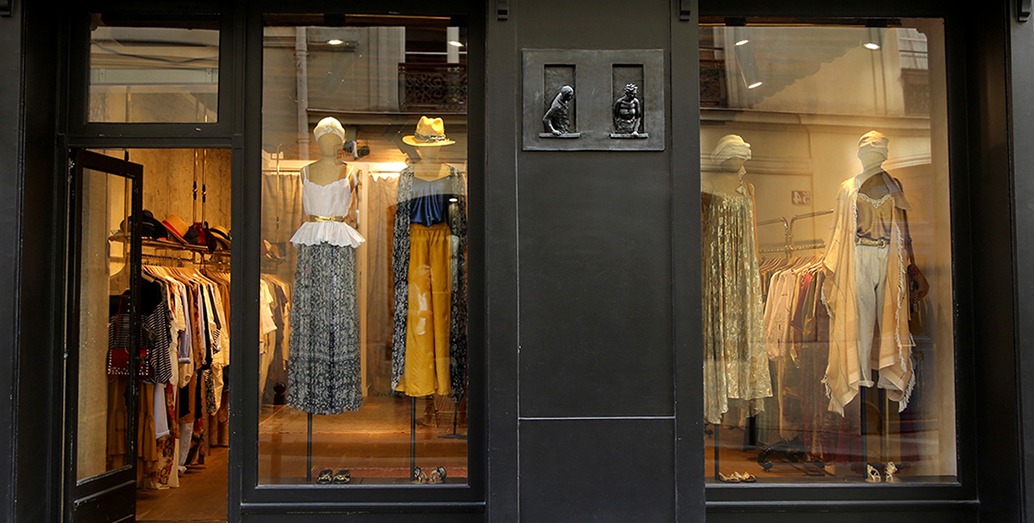 boutique St Pere paris mesdemoiselles createur