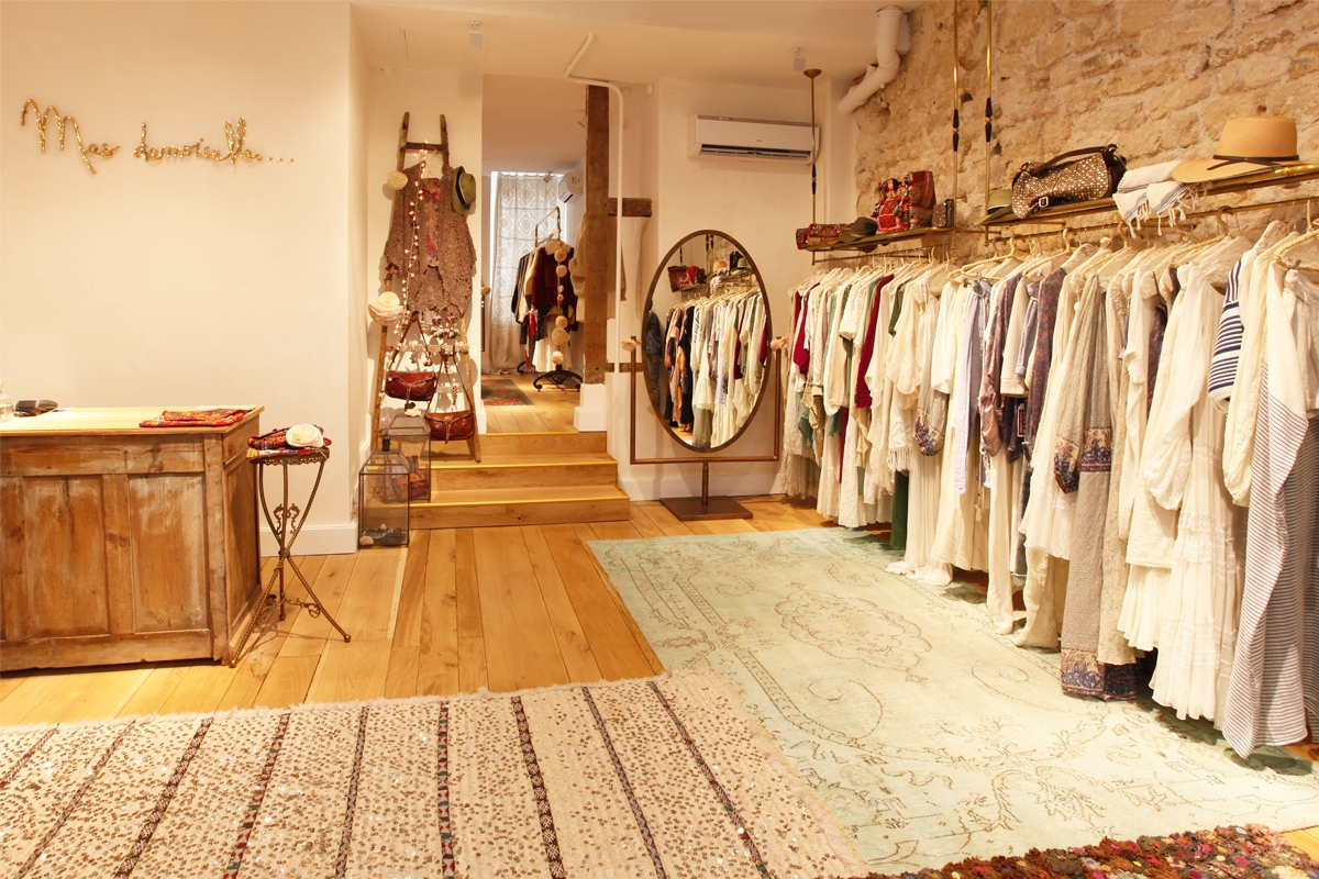 Boutique mesdemoiselles paris design hippie