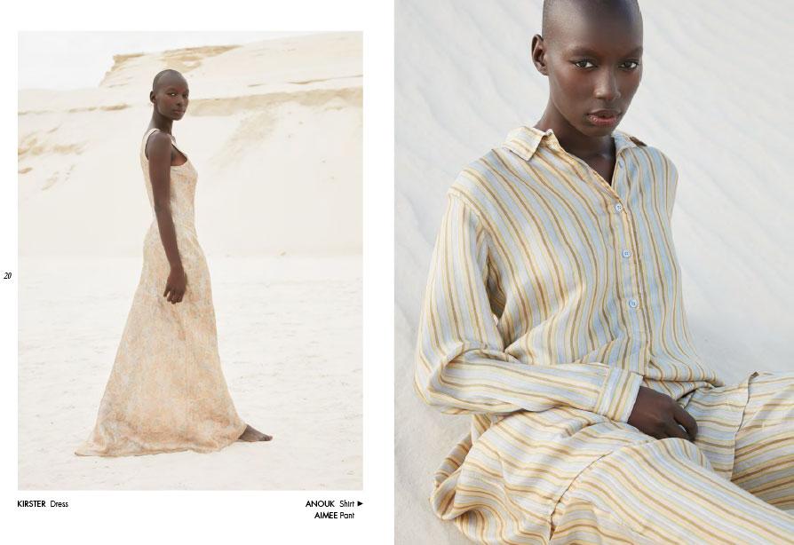 Mes Demoiselles – Dress Krister, shirt Anouk and pant Aimee