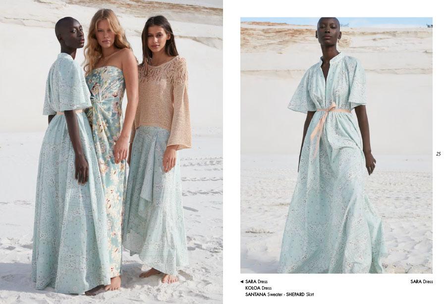 Mes Demoiselles – Dress Sara, dress Koloa, sweater Santana and skirt Shepard