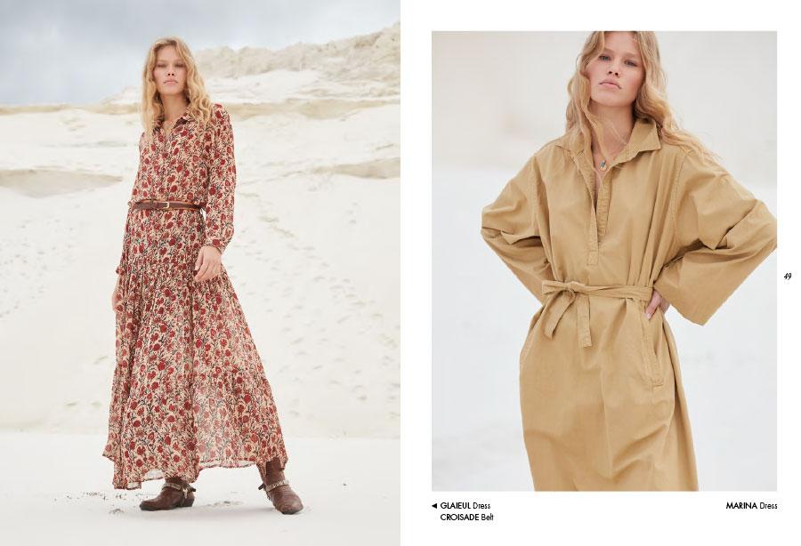Mes Demoiselles – Dress Glaieul, belt Croisade and dress Marina