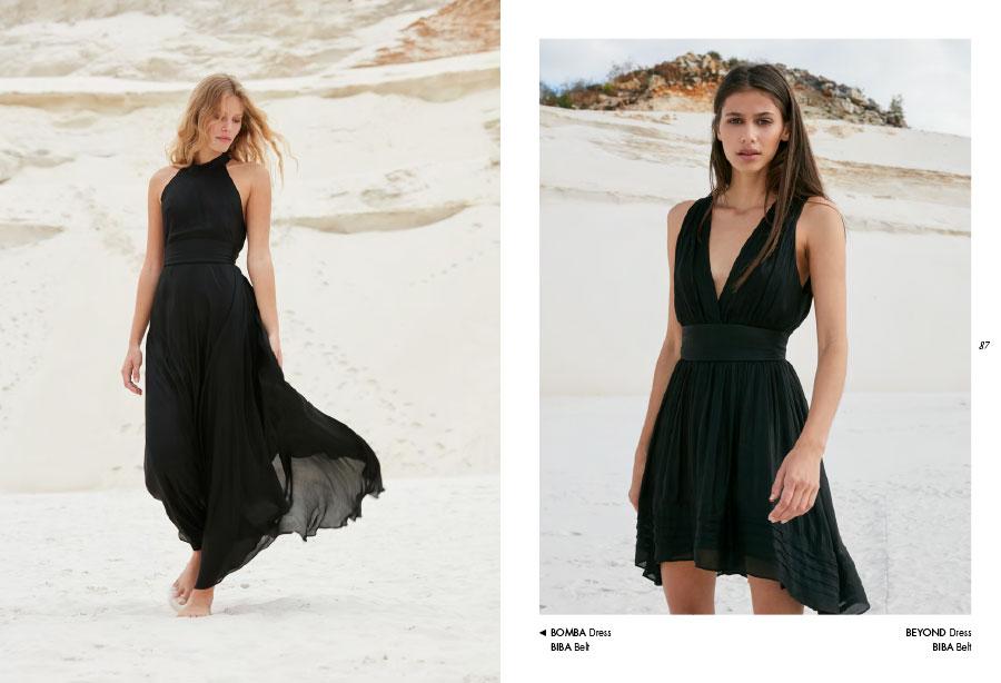 Mes Demoiselles – Dress Bomba, dress Beyond et belt Biba