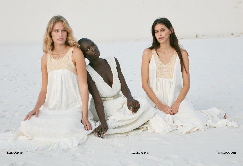 Mes Demoiselles - dress Fabiola, dress Cleopatre and dress Francesca
