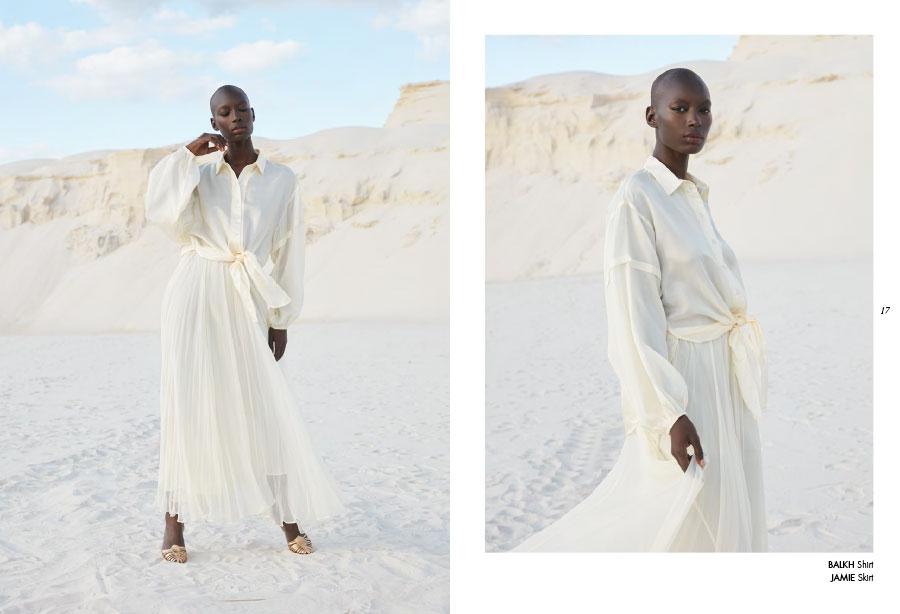 Mes Demoiselles – Shirt Balkh and skirt Jamie