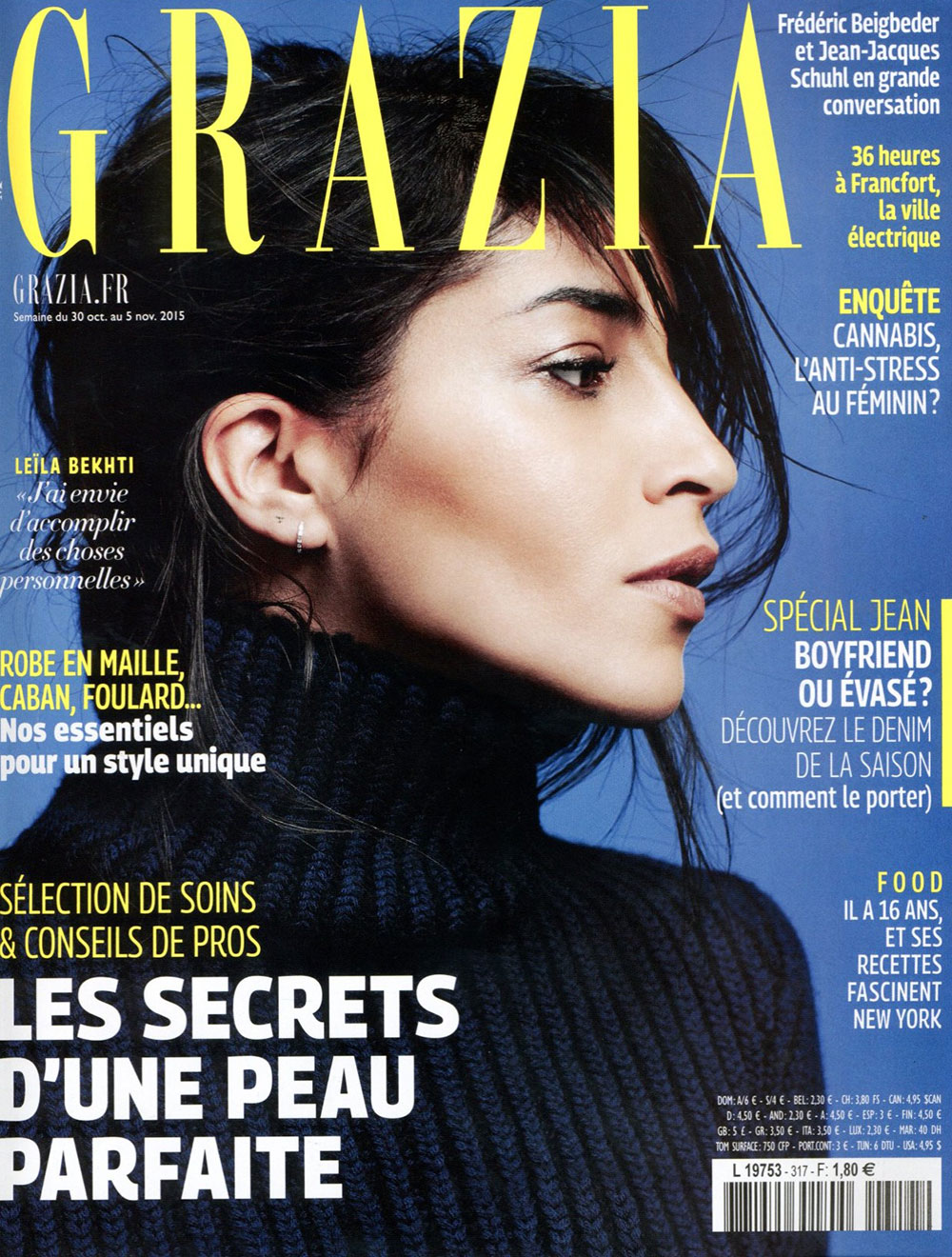 Publication Presse Magazine women fashion GRAZIA from Paris