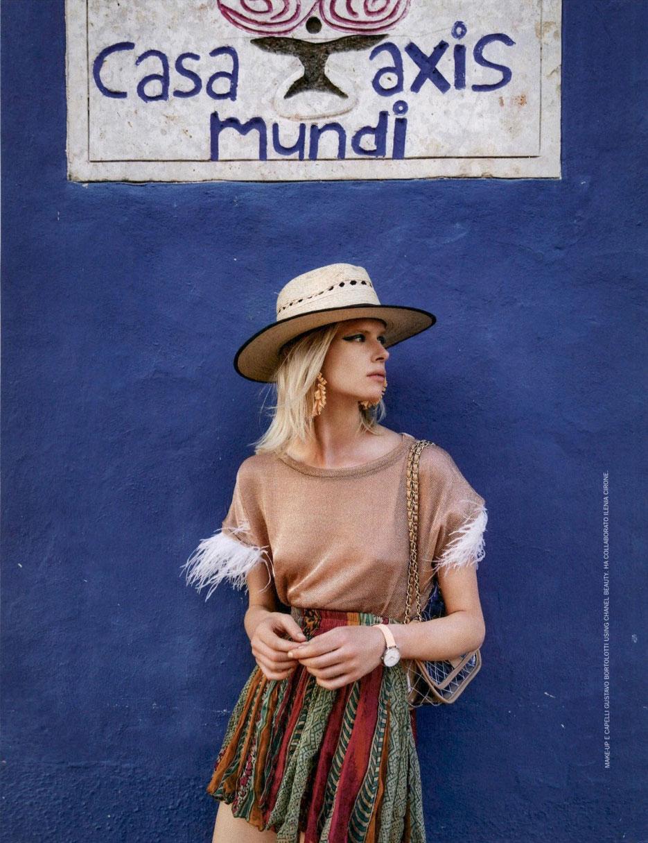 mode femme à paris presse mode COSMOPOLITAN MAGAZINE