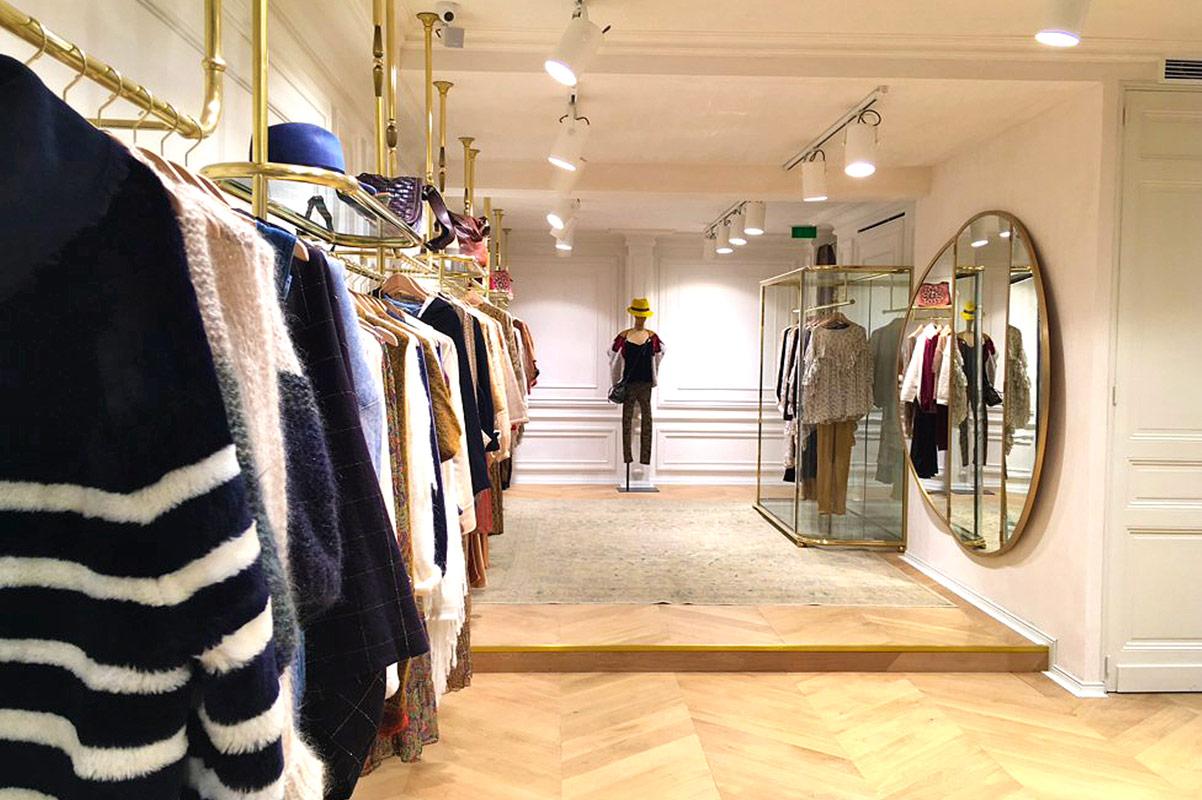 Boutique Mes Demoiselles rue Cambon 75001 interieur 1